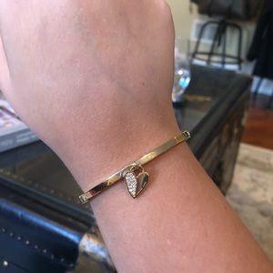 MICHAEL KORS- pave heart bracelet